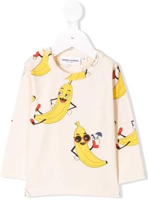 Mini Rodini banana print sweatshirt