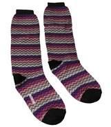 Missoni Gm00c0d4933 0002 Purple/fuschia Knee Length Socks.