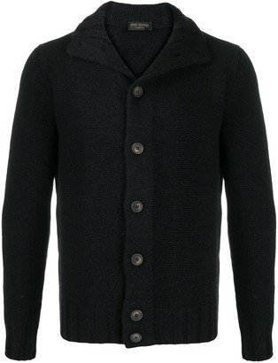 Dell'oglio Buttoned Up Chunky Knit Cardigan