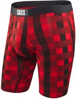 Saxx Vibeen Underwear Boxer Briefs, No Fly, Long Leg 9 Inch,odern Fit