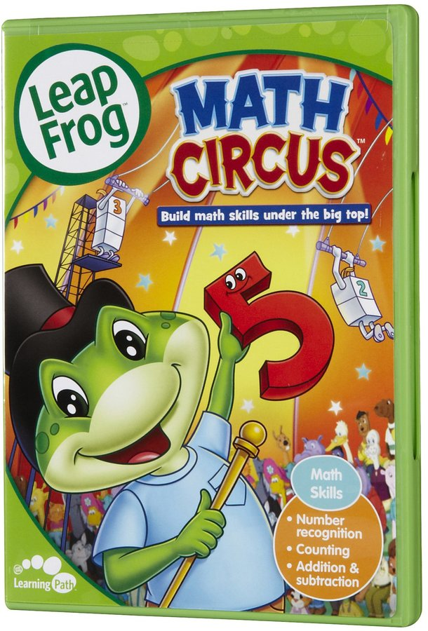 Leapfrog Math Circus DVD
