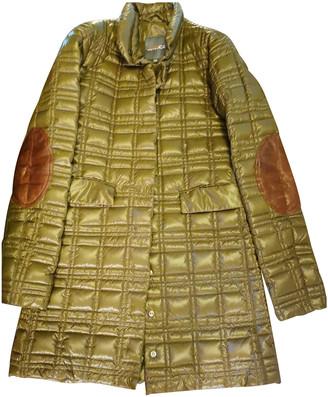 Duvetica Green Polyester Coats