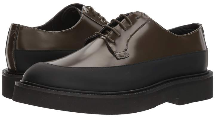 Emporio Armani Leather/Rubber Oxford Men's Lace up casual Shoes