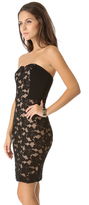 Rebecca Taylor Lace Strapless Dress