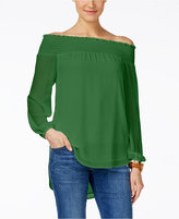 MICHAEL Michael Kors Off-The-Shoulder Blouse