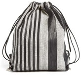 Proenza Schouler Drawstring Backpack - Black