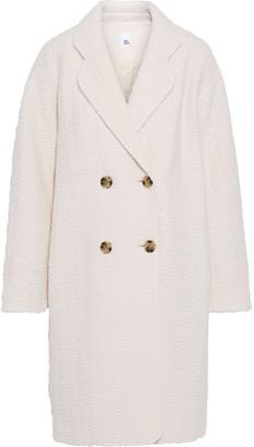 Iris & Ink Hasmita Oversized Double-breasted Boucle Coat