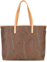 Etro abstract print shopping bag