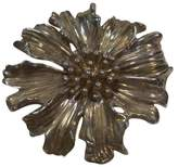 Tiffany & Co. 925 Sterling Silver Marigold Flower Brooch Lapel Vintage Pin