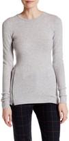 Inhabit Cashmere Blend Stretch Crew Neck Sweater