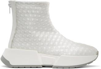 MM6 MAISON MARGIELA White Bubble Wrap Sneakers