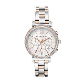 Michael Kors Sofie Two Tone Watch