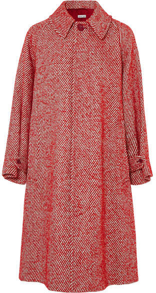Tomas Maier Oversized Wool-blend Coat - Red