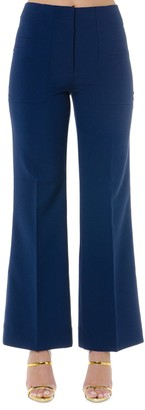 Acne Studios Blue Cropped Pants