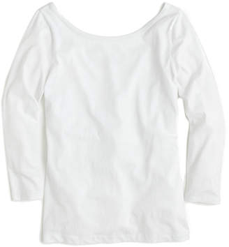 J.Crew Linen-Blend T-Shirt