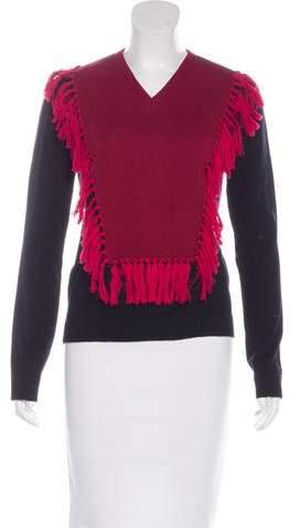 Altuzarra Wool Fringe-Trimmed Sweater