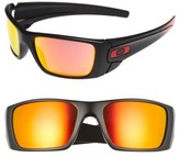 Oakley Men's Fuel Cell 60Mm Sunglasses - Black