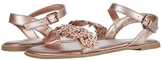 Kenneth Cole Reaction Brie Sparkle (Little Kid/Big Kid) (Rose) Girl's Shoes