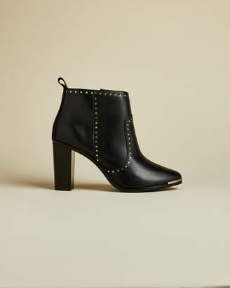 Ted Baker MABETA Studded leather heeled boots