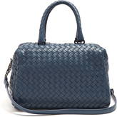 Bottega Veneta Boston small intrecciato leather bag