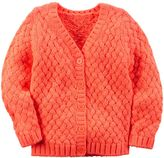 Carter's Girls 4-8 Braided Knit Cardigan