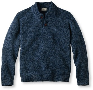 L.L. Bean L.L.Bean Classic Ragg Wool Sweater, Henley