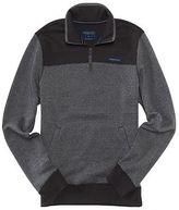 Aeropostale Mens Marled Half-Zip Pullover Sweatshirt