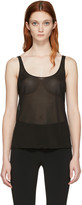 Calvin Klein Collection Black Driver Tank Top
