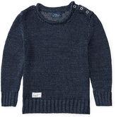 Ralph Lauren Linen Roll-Neck Sweater