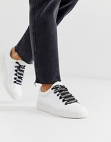 Juicy Couture leather lace up sneakers