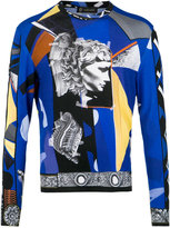 Versace Medusa collage sweater