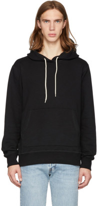 Naked & Famous Denim Denim Denim SSENSE Exclusive Black Cotton Hoodie