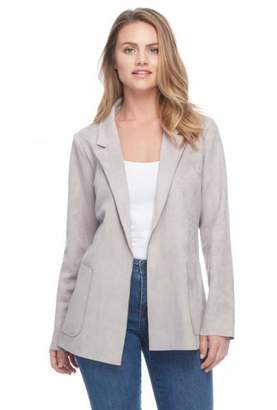 French Dressing Jeans Faux Suede Jacket