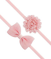Starting Out 2-Pack Bow & Flower Headband