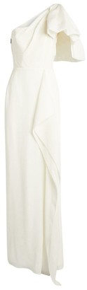 Roland Mouret One-Shoulder Belhaven Gown