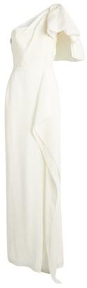 Roland Mouret One-Shoulder Belhaven Gown