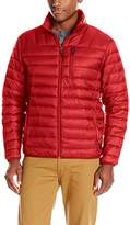 Hawke & Co Men's Packable Down Jacket Hidden Hood