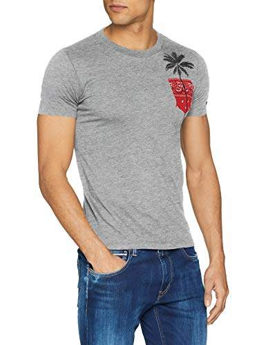 fc05b87a Replay Grey T Shirts For Men - ShopStyle UK