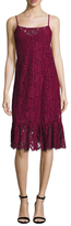 Plenty by Tracy Reese Lace Flounced Midi Dress