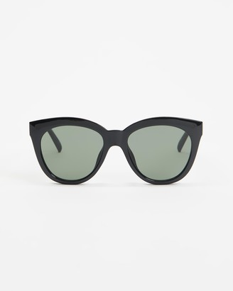 Le Specs Women's Black Oversized - Sustainable Resumption - Size One Size at The Iconic