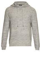 Vince Sporty Jasper Hooded Cotton-blend Sweater