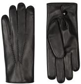 Harrods Of London Rabbit Fur-Lined Leather Gloves