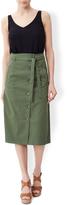 Monsoon Caitlin Chino Skirt