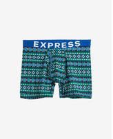 Express fair isle boxer briefs