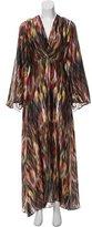 Alexis Silk Abstract Dress