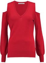 Autumn Cashmere Cold-Shoulder Cashmere Sweater