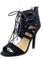 Charles Albert Melissa Women Peep-toe Synthetic Black Heels.