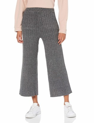 Find. Amazon Brand Women's Cropped Ribbed Trouser
