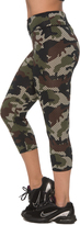 Camouflage Capri Leggings