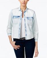 Calvin Klein Jeans Bleached Denim Shirt